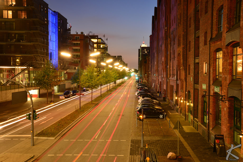 Hamburg Hafencity @night