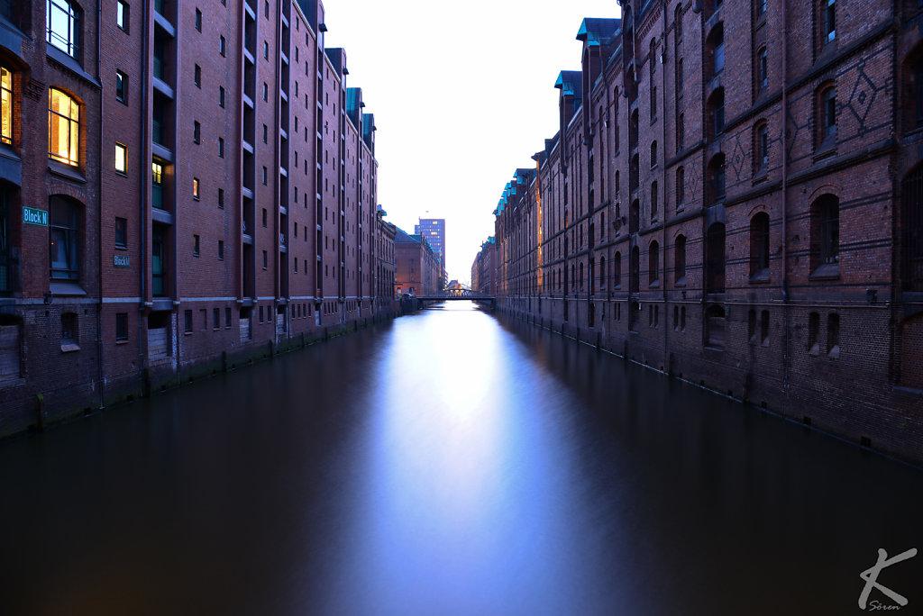Hamburg Hafencity @dawn