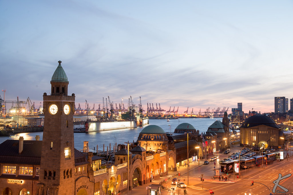 Landundgsbrücken Hamburg