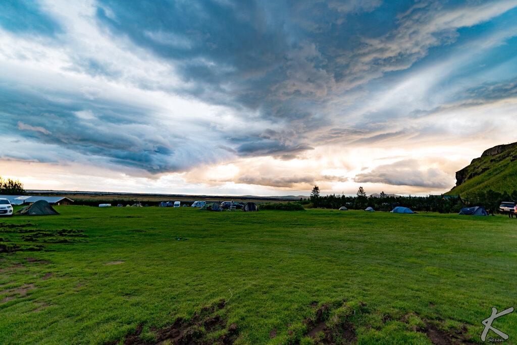 Suðurland - Campingplatz